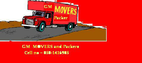 GM Movers And Packers 0501416905 Ali